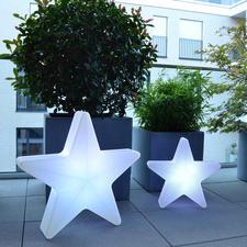 3D-Leuchtstern - Der Star Ihrer Weihnachtsdekoration: Der imposante 3D-Leuchtstern.
