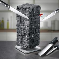 Magnetischer Messerblock Pyrolith - Moderne Skulptur? Design-Messerblock? Beides!