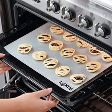 Nur noch in den Ofen geben ...