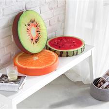 Fruchtkissen, 3er-Set - Die besseren Sitzkissen: Viel bequemer und schöner als einfache Auflagen.