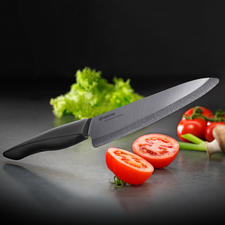 Zirkonia-Keramik-Messer - Kyocera Keramik-Messer 2.0: noch härter, noch schärfer, noch schnitthaltiger als die bisherigen Kyocera Messer.