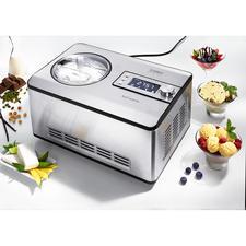 2-l-Kompressor-Eismaschine IceCreamer - Mit der Kühltechnik großer Profi-Geräte. Zum sehr attraktiven Preis.