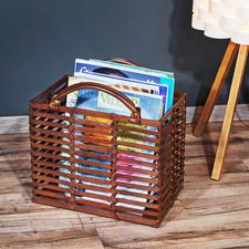 Ideal zum Beispiel als Sammelstelle für Ihre Zeitschriften.