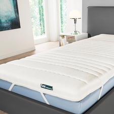 Federkern-Matratzenauflage - Der Komfort eines elastischen Taschenfederkerns – jetzt als Matratzen schonende Auflage.