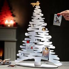 Designer-Weihnachtsbaum - Alessis stylisher Weihnachtsbaum: Designobjekt und Pinwand in einem.