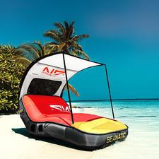 Cabana Lounge - Die Luxus-Lounge unter den Badeinseln. Premium-Qualität für Langzeit-Badespaß.