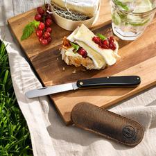 Taschen-Obst-/ Brötchenmesser - Unterwegs die perfekte Begleitung: das Brotzeit-Klappmesser im Taschenformat.