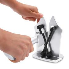 Bavarian Edge™ Messerschärfer - Macht Messerschärfen genial einfach, schnell und sicher. Für Glatt- und Wellenschliff.