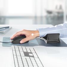Zero G glider® Unterarmauflage - Diese Gleitauflage unterstützt Ihren Unterarm bei jeder Mausbewegung. Hand, Arm und Schulter werden wirkungsvoll entlastet.