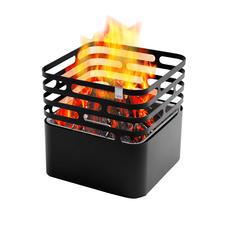 Cube Feuerkorb - Der Feuerkorb mit genialem Dreh: einfach kopfüber abstellen – schon sauber gelöscht.