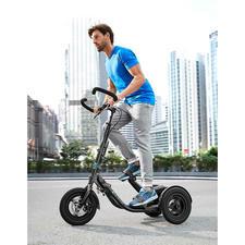 Me-Mover Fitness - Der erste Stepper auf Rädern. Verbindet Fitness mit Mobilität und Lifestyle.