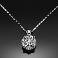 Diamantkette, 3 Karat-Optik