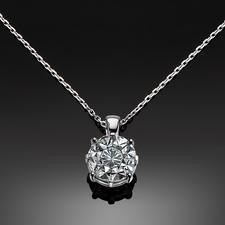 Diamantkette, 2 Karat-Optik