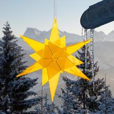 Cazador-del-sol® Sonnenfänger-Sterne - Spektakulär auf großen Events – und in Ihrem Garten. Rein durch Tageslicht wird das Leuchten entfacht.