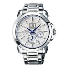 Seiko Premier Kinetic Perpetual Herrenuhr SNP159P1 - Läuft bis zu 800-mal länger (!) als herkömmliche Automatik-Uhren.
