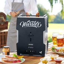 Würstchen-Toaster 2.0 - Knusprig-braune Grillwürste. In 5 Minuten. Auf Knopfdruck.