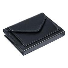 Multi Wallet mit Münzfach, Schwarz