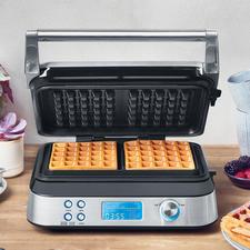 Gastroback Waffelautomat Advanced Control - Geniales Multitalent backt Waffeln in köstlichen Variationen. Für jeden Geschmack.