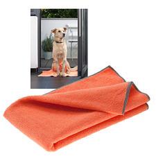 Bioaktives Haustier-Handtuch, 3er-Set - Ruck-zuck: Fell trocken. Pfoten sauber. Und keine unangenehmen Gerüche.