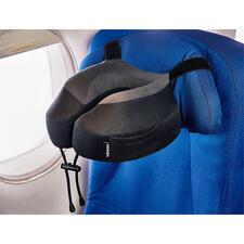 Nackenkissen Evolution® S3™ - Per genialem Gurtsystem rutschsicher an fast jeder Kopfstütze zu befestigen.