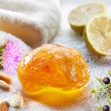 Bernsteinseife, 3er-Set - Erlesene, natürliche Inhaltsstoffe reinigen, pflegen und erfrischen die Haut.