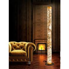 Design-Schiefer-Leuchte - Einzigartige Handwerkskunst lässt edles Schiefergestein in faszinierendem Licht erstrahlen.