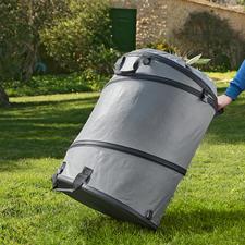 Gartenabfallsack - Mit festem Boden und Popup-Funktion. Standfest, extra stabil und langlebig.