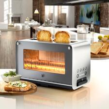 WMFGlastoasterLONO - Der Hightech-Toaster mit Glas-Sichtfenster. Langlebige Qualität von WMF.