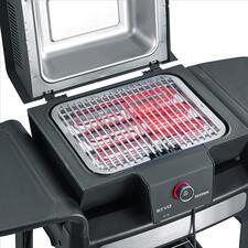 Die speziell entwickelte Reflektorschale sorgt für optimale Hitzeverteilung.