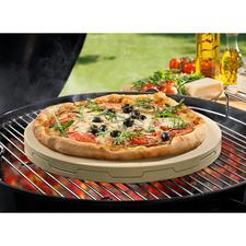Doppelter Pizzastein - Backt Steinofen-Pizza unübertroffen gleichmäßig und zart knusprig.