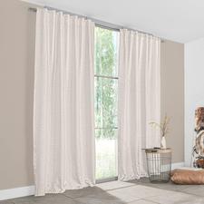 Vorhang Soho - 1 Stück - Angesagte Metallic-Optik – aber außergewöhnlich weich und wohnlich.