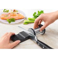 Diamant-Messerschleifer,2-teilig - Messerschärfen ohne Übung: fachmännisch, sicher und schnell. Von Johann Lafer empfohlen.