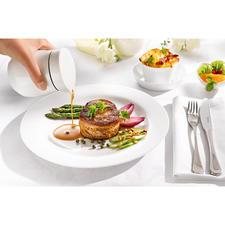 Thermo-Sauciere - Doppelwandiges Fine Bone China hält Ihre Saucen länger heiß. Elegante Thermo-Sauciere von ASA Selection.