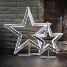 LED-Stern - Der Leuchtstern de luxe:  Beidseitige LED-Bänder erzeugen einen eindrucksvollen 3-D-Leuchteffekt. Von Villeroy & Boch.