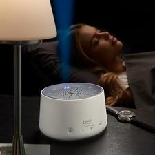 Einschlafhilfe - Besser einschlafen. Auf natürliche Weise – mit beruhigenden Licht-Klang-Kompositionen.