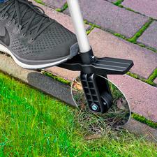 Teleskop-Rasenkantenroller - Akkurate Rasenkanten, ganz bequem ohne Bücken.