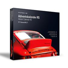 Umgedreht fügen sich die 24 Boxen zu einem neuen Porsche-Motiv zusammen.
