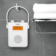 TechniSat Dusch- und Badradio - Rauschfreier digitaler Radioempfang und soundstarke Lieblingsmusik vom Smartphone. Von TechniSat, Deutschland.
