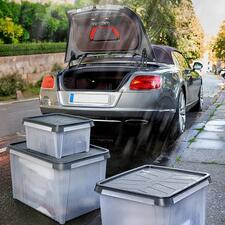SmartStore™DryAufbewahrungsboxen - Wasserresistente Boxen für Keller, Dachboden, Garage, Zelt, Caravan, Boot, ...
