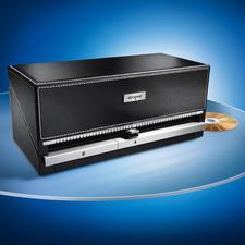 CD/DVD-Organizer - CD-Archiv mit Stil: auf Tastendruck die gewünschte CD. 100 CDs: gut geschützt, perfekt geordnet.