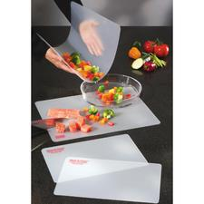 Flexible Schneidbretter, 4er-Set - Befördert alles Geschnittene sauber in Topf, Pfanne oder Schüssel.