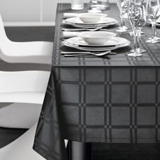 Tischdecke, Schwarz
