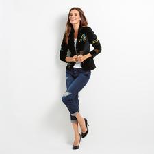 Love Moschino Destroyed-Jeans - Destroyed-Jeans ohne Altersbegrenzung. Legitimiert vom Luxus-Label Love Moschino.