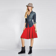 Pinko Jeansbluse - Nonstop-Trend Denim-Bluse: Rustikale Optik aber supersoft – dank Tencel®.