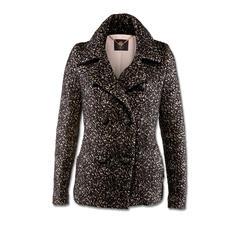 Sly 010 New Caban - Caban-Jacken. Salz-&-Pfeffer-Muster. Klassische Vorbilder setzen jetzt neue Trends.