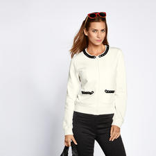 Love Moschino Sweat-Couturejacke - Love Moschino macht die Sweat-Jacke zum Couture-Piece.