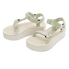 Teva® Plateau-Sandale - Vom Outdoor-Klassiker zum Fashion-Star: Die Trecking-Sandale von Teva®, USA.