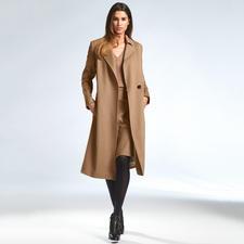 Strenesse Camel-Coat - Camel-Coat de Luxe: Loro Piana-Tuch plus Strenesse-Design. Für weniger als 1.000,– Euro.
