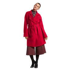 Pinko Doubleface-Mantel - Mode-Must-Have roter Wollmantel: Bei Pinko besonders gelungen.