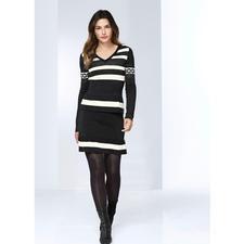 Boutique Moschino Volant-Pulli oder -Strickrock - Sportswear-Style in selten verspielter Art: Die feminine Strick-Kombi von Boutique Moschino.